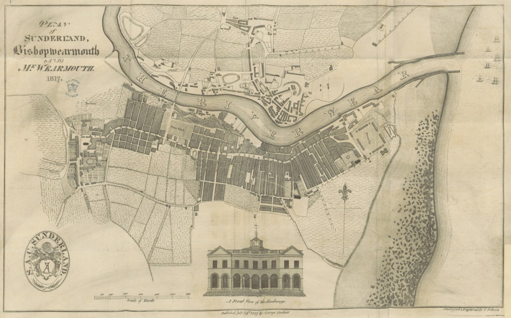 This image has an empty alt attribute; its file name is plan_of_sunderland_bishopwearmouth_and_monkwearmouth_1817.jpg